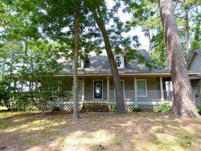 Kitty Hawk Single Family Home For Sale: 3000 Martins Point Road