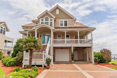 Dare County Single Family Home For Sale: 50 Ballast Point Drive