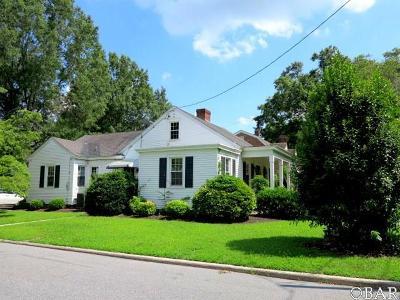 Elizabeth City Single Family Home For Sale: 310 Selden Street