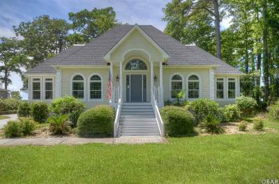 Kitty Hawk, Southern Shores Single Family Home For Sale: 3032 Martins Point Road