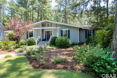 Manteo Single Family Home For Sale: 136 Gareth Circle