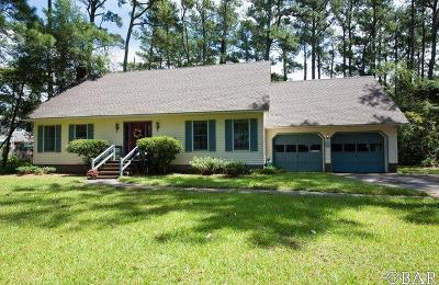 Manteo Single Family Home For Sale: 152 Brakewood Road