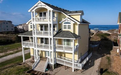 Nags Head Single Family Home For Sale: 10433 S Old Oregon Inlet Road