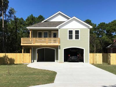 Kill Devil Hills Single Family Home For Sale: 414 Burns Drive