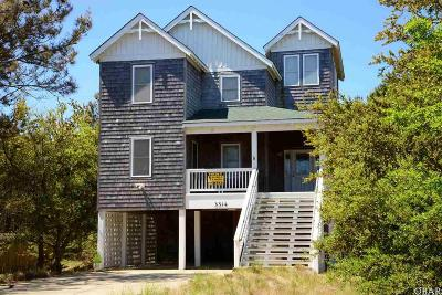 Nags Head Single Family Home For Sale: 3314 S Linda Lane