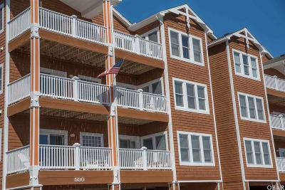 Manteo Condo/Townhouse For Sale: 503 North Bay Club Drive
