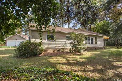 Currituck County Single Family Home For Sale: 126 Tillie Lane