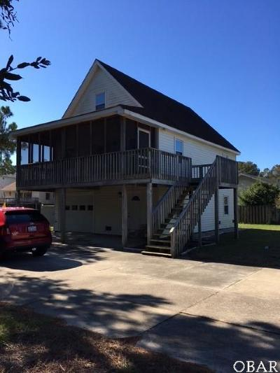 Kill Devil Hills Single Family Home For Sale: 501 Canal Drive