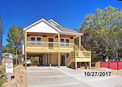 Kill Devil Hills Single Family Home For Sale: 404 W Holly Street
