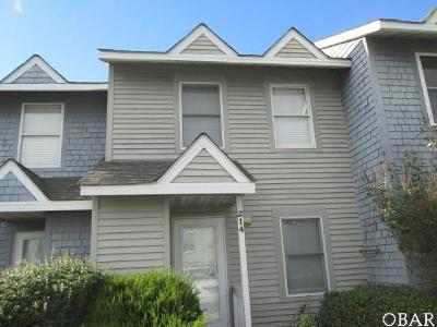Kitty Hawk Condo/Townhouse For Sale: 214 W Kitty Hawk Road
