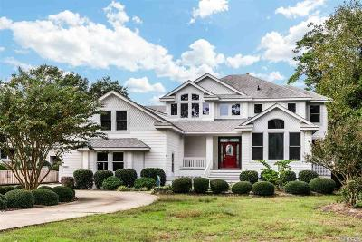Kitty Hawk, Southern Shores Single Family Home For Sale: 2000 Martins Point Road
