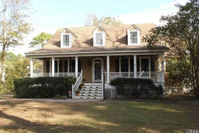 Southern Shores NC Single Family Home For Sale: $625,000
