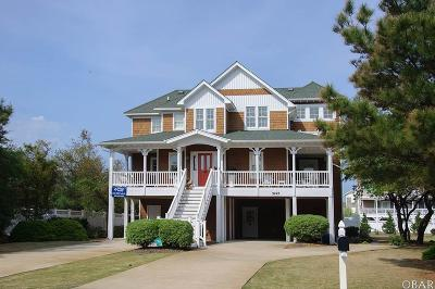 Nags Head NC Single Family Home For Sale: $825,000