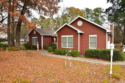 Kitty Hawk, Southern Shores Single Family Home For Sale: 1017 Martins Point Road