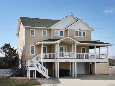 Nags Head Single Family Home For Sale: 112 Sandpebble Court