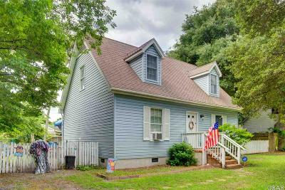 Manteo Single Family Home For Sale: 1370 N Highway 64/264