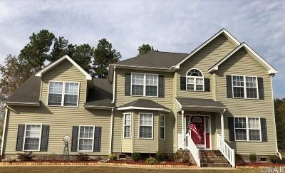 Elizabeth City Single Family Home For Sale: 302 Princess Anne Circle