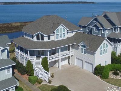 Dare County Single Family Home For Sale: 15 Ballast Point Drive
