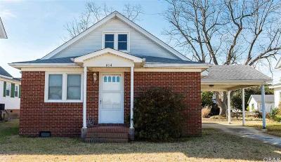 Manteo Single Family Home For Sale: 614 Croatan Avenue