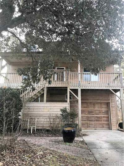 Kill Devil Hills Single Family Home For Sale: 809 Cedar Drive