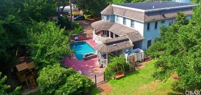 duck Single Family Home For Sale: 100 Marlin Drive
