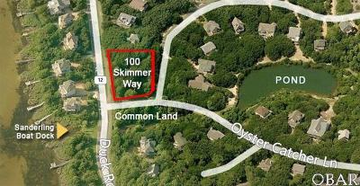 Duck Residential Lots & Land For Sale: 100 Skimmer Way