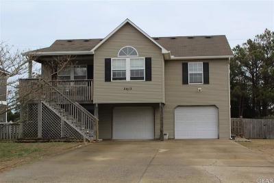 Nags Head NC Single Family Home For Sale: $324,000