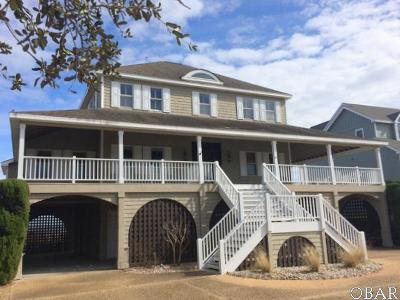 Dare County Single Family Home For Sale: 40 Ballast Point Drive
