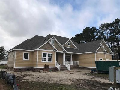 Elizabeth City Single Family Home For Sale: 109 Golf Club Drive