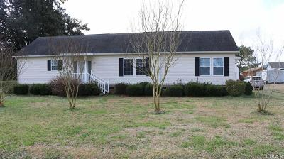 Elizabeth City Single Family Home For Sale: 2723 Main Street Ext