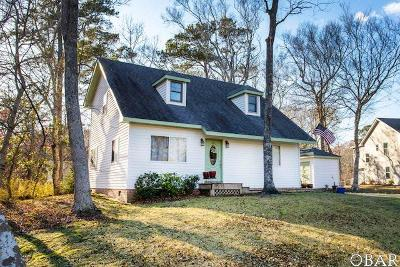 Kitty Hawk Single Family Home For Sale: 5128 Locust Court