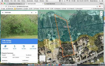 Buxton Residential Lots & Land For Sale: Nc Highway 12
