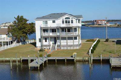 Nags Head Single Family Home For Sale: 118 S Marina Drive