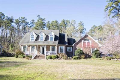 Elizabeth City Single Family Home For Sale: 205 Small Drive