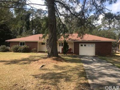 Manteo Single Family Home For Sale: 632 Nc 345