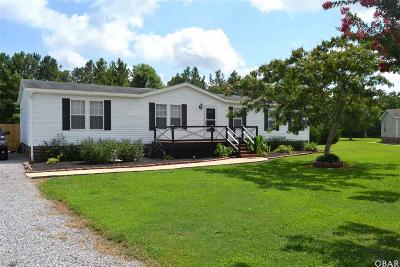 Elizabeth City NC Single Family Home For Sale: $182,000