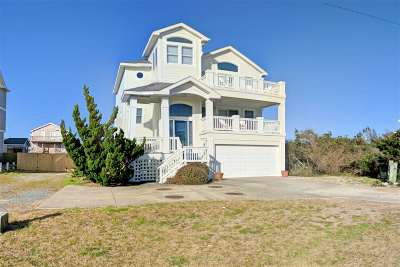 Nags Head Single Family Home For Sale: 2234 S Virginia Dare Trail