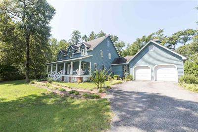 Kitty Hawk Single Family Home For Sale: 4520 The Woods Road