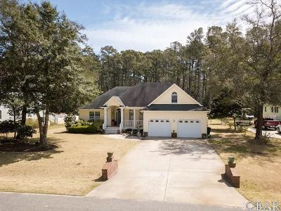 Manteo Single Family Home For Sale: 116 Fort Hugar Way
