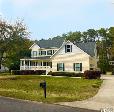 Manteo Single Family Home For Sale: 119 Weir Point Drive