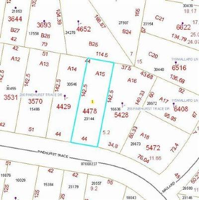 Residential Lots & Land Sold: 245 Pinehurst Trace Drive