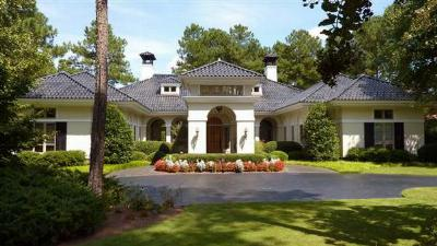 Pinehurst NC Single Family Home For Sale: $1,195,000