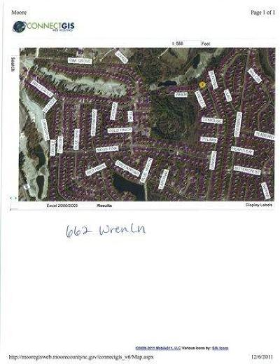 Residential Lots & Land Sold: 662 Wren Lane