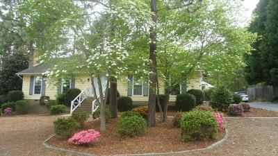 Southern Pines NC Single Family Home Closed: $222,000