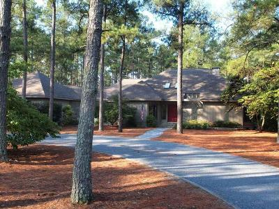 Pinehurst NC Single Family Home Active/Contingent: $355,000