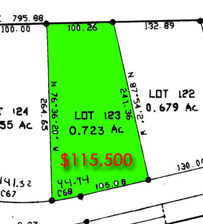 Pinehurst NC Residential Lots & Land Sold: $110,250