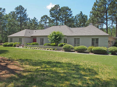 Moore County Single Family Home Active/Contingent: 105 Tall Timbers Drive