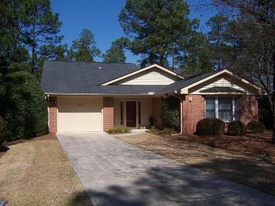 Pinehurst NC Single Family Home Sold: $164,900