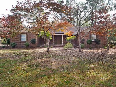Pinehurst Single Family Home For Sale: 20 E McDonald Road