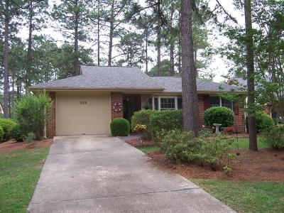 Pinehurst NC Single Family Home Sold: $198,500